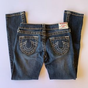 True Religion Joey denim jeans size 28, 28x27